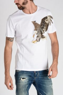 T-shirt Stampa EAGLE in Jersey