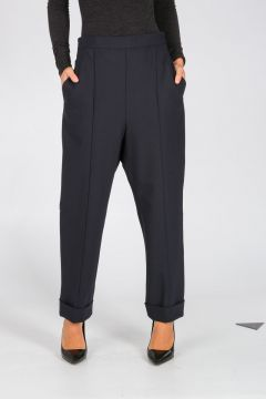 Pantalone Misto Lana Vergine Stretch