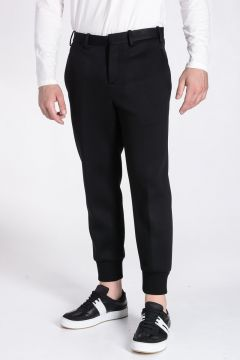 Pantaloni Cropped in Neoprene
