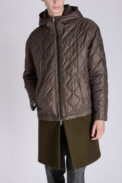 OVERSIZE FIT Quilted Coat