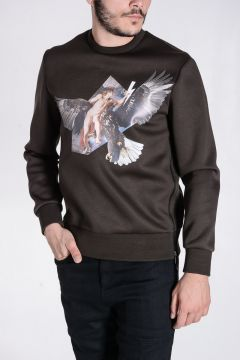 RUBEN'S EAGLE Neoprene Sweatshirt