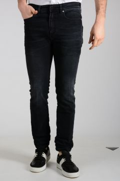 18 cm Stonewashed Denim SLIM Jeans