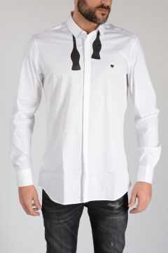 Cotton Poplin BOW TIE Shirt