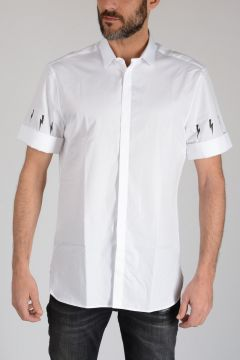 Cotton Poplin THUNDERBOLT Shirt
