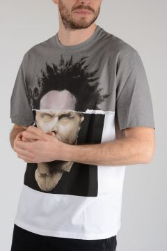 Jersey AFRO ON MARBLE T-Shirt