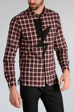 Checked THUNDERBOLT Shirt