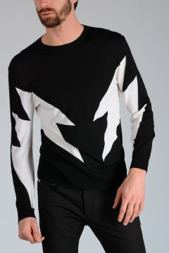 Merino Wool THUNDERBOLT Sweater
