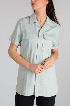 Short Sleeves Blouse