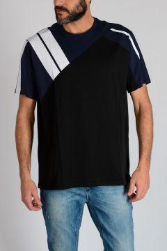 Jersey GEOMETRIC INLAY T-shirt