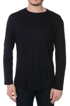 T-shirt Girocollo con Maniche Lunghe
