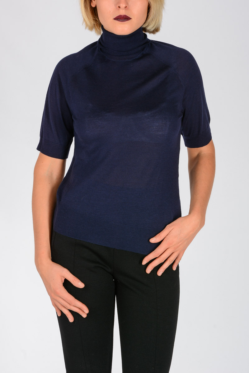 fd4b7ef4a0 Neil Barrett Women Wool and Silk Blend Sweater - Glamood Outlet