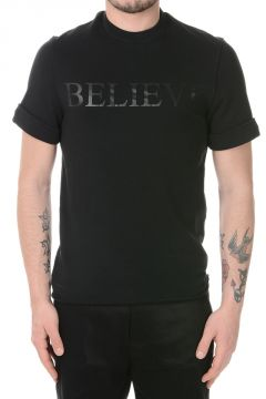 Short Sleeved BELIEVE Sweatshirt