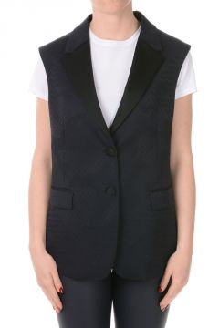 Virgin Wool Blend Vest