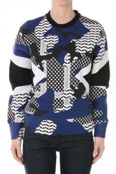 Printed Sweatshirt in Scuba
