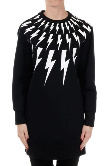 Bolt Patterned Sweatshirt