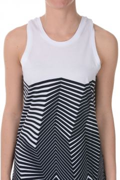 Cotton stretch Printed Tank Top