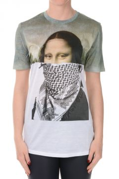 Gioconda Cotton Printed T-shirt