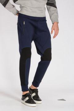 Bicolor Neoprene Jogger Pants