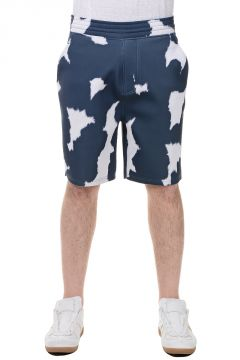 Printed Scuba Shorts