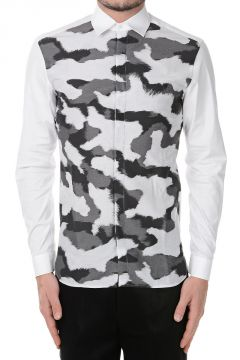 Printed Camouflage Shirt