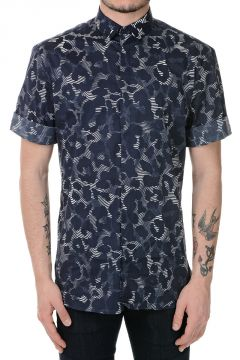 Stretch Cotton SLIM FIT Printed Shirt