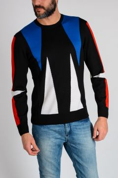 Crewneck ABSTRACT Sweater