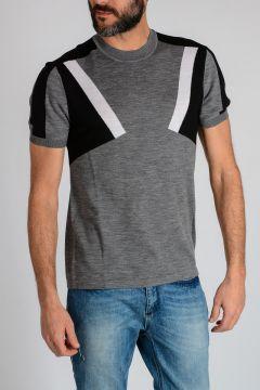 Short Sleeve Crewneck Sweater