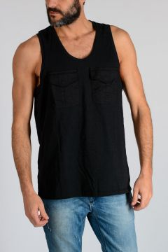 LOOSE LONG Sleeveless t-shirt