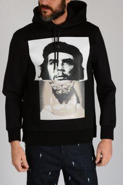 Printed CHE GUEVARA STATUE Hoodie Sweatshirt