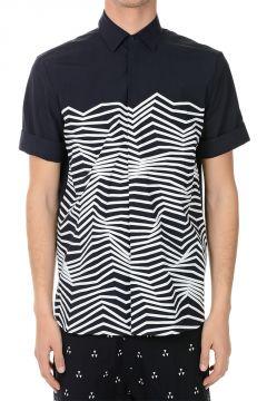 Short Sleeved Printed Shirt