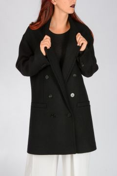 Cappotto in Lana Vergine Stretch
