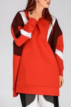 Oversize Neoprene Sweatshirt