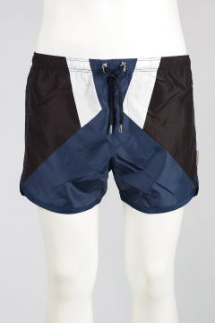 Shorts Mare GEOMETRIC INLAY