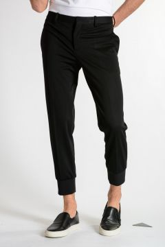 Pantaloni in Viscosa Stretch