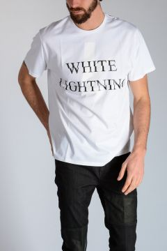 T-shirt WHITE LIGHTNING in Jersey