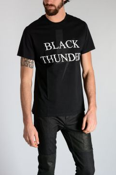 T-shirt BLACK THUNDER in Jersey