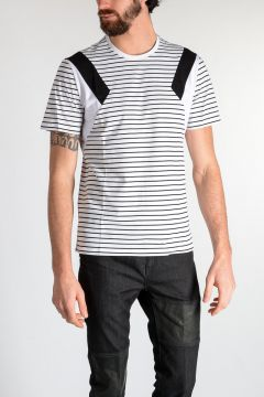 T-shirt GEOMETRIC STRIPED in Jersey