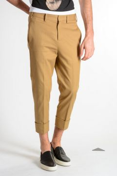 Pantaloni in Cotone Stretch