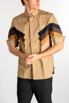 Camicia GEOMETRIC INLAY
