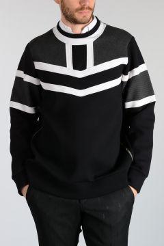 Neoprene COLOR BLOCK Sweatshirt