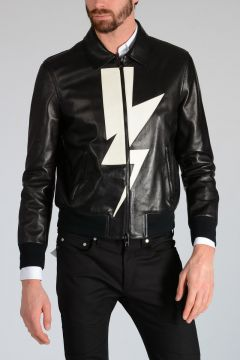 Leather THUNDERBOLT Jacket