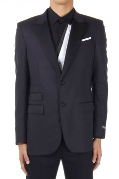 Blazer TUXEDO Slim Fit  in Lana Vergine