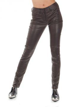 Pantalone SKINNY FIT in pelle