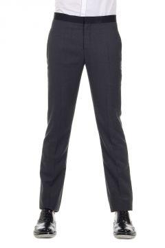 Pantalone TUXEDO in Lana Vergine