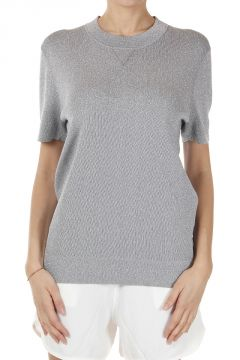 Short Sleeve Slim Fit Sweater