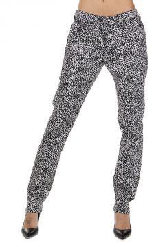 Pantalone Animalier Skinny Fit