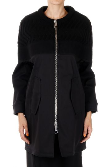 Cappotto OVERSIZE FIT in Cotone Stretch