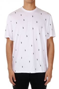 T-shirt Stampata in Cotone
