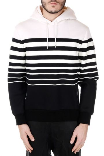 Hooded Sweatshirt with Lateral Zip