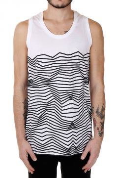 Tank Top Slim Fit in Cotone
